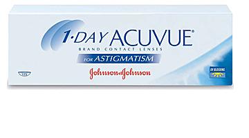 однодневные acuvue one day astigmatism Johnson & Johnson