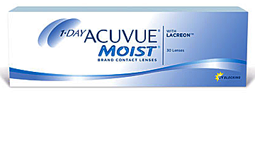 однодневные acuvue one day moist Johnson & Johnson