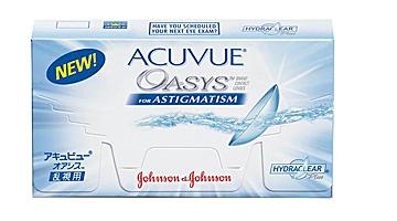 двухнедельные acuvue oasys  astigmatism Johnson & Johnson