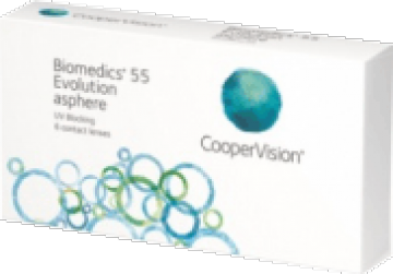 Biomedics 55 Evolution   ( 6 шт )