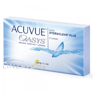 Acuvue Oasys with HYDRACLEAR (6 шт)
