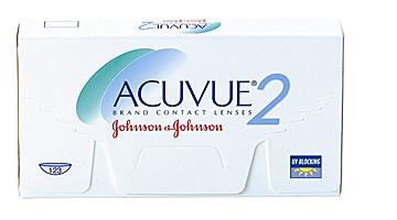 двухнедельные acuvue 2 Johnson & Johnson