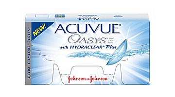двухнедельные acuvue oasys Johnson & Johnson