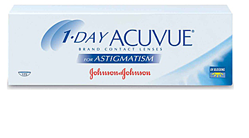 однодневные acuvue one day astigmatism Johnson & Johnson