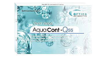 ежемесячные aqua cont q55 CONT, Ю.Корея